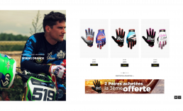 RiderUnik lance son site de gants ultrafittés.