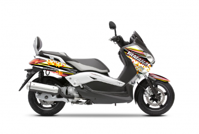X MAX 125 HOST ROUGE