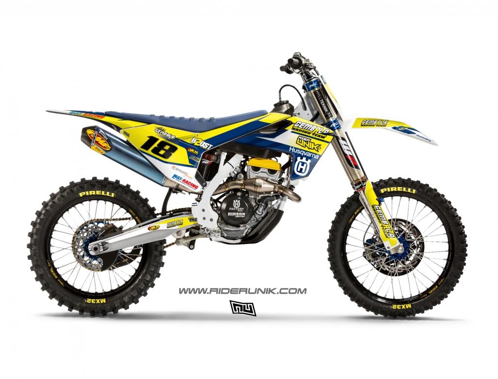kit deco motocross gem