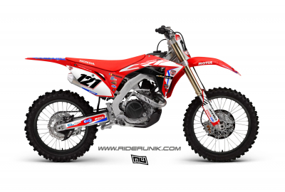 KIT DECO MOTOCROSS SR4