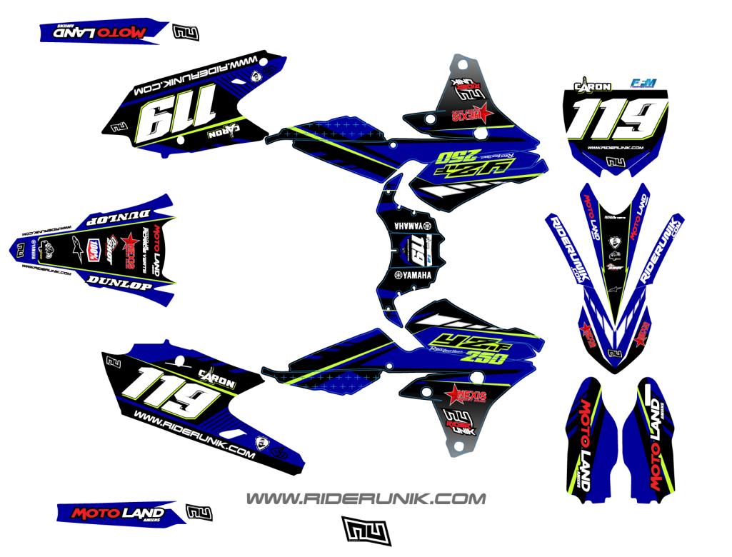 kit deco motocross coz. Black Bedroom Furniture Sets. Home Design Ideas