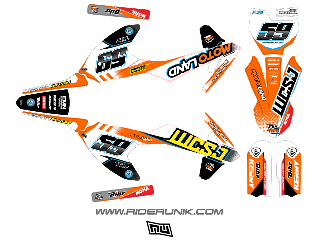 KIT DECO MOTOCROSS WHE