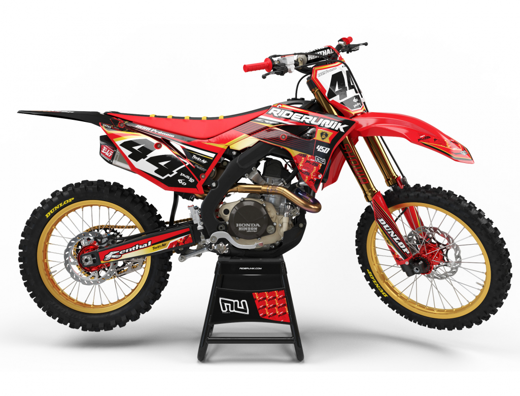 KIT DECO MOTOCROSS FAST