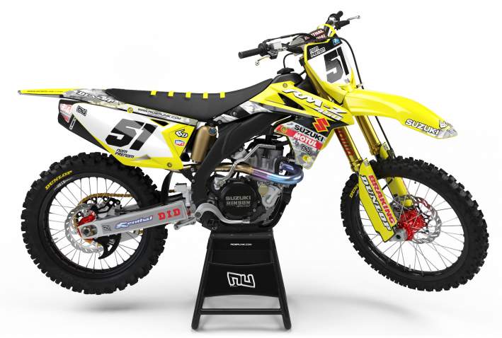 KIT DECO MOTOCROSS BARCAMO