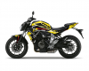 KIT DECO YAMAHA MT 07 CORP JAUNE 1