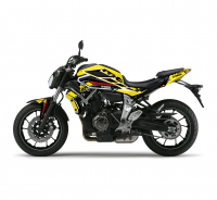 KIT DECO YAMAHA MT 07 CORP JAUNE