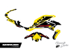 KIT DECO YAMAHA MT 07 CORP JAUNE 2