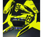 KIT DECO MOTOCROSS PEN FLUO