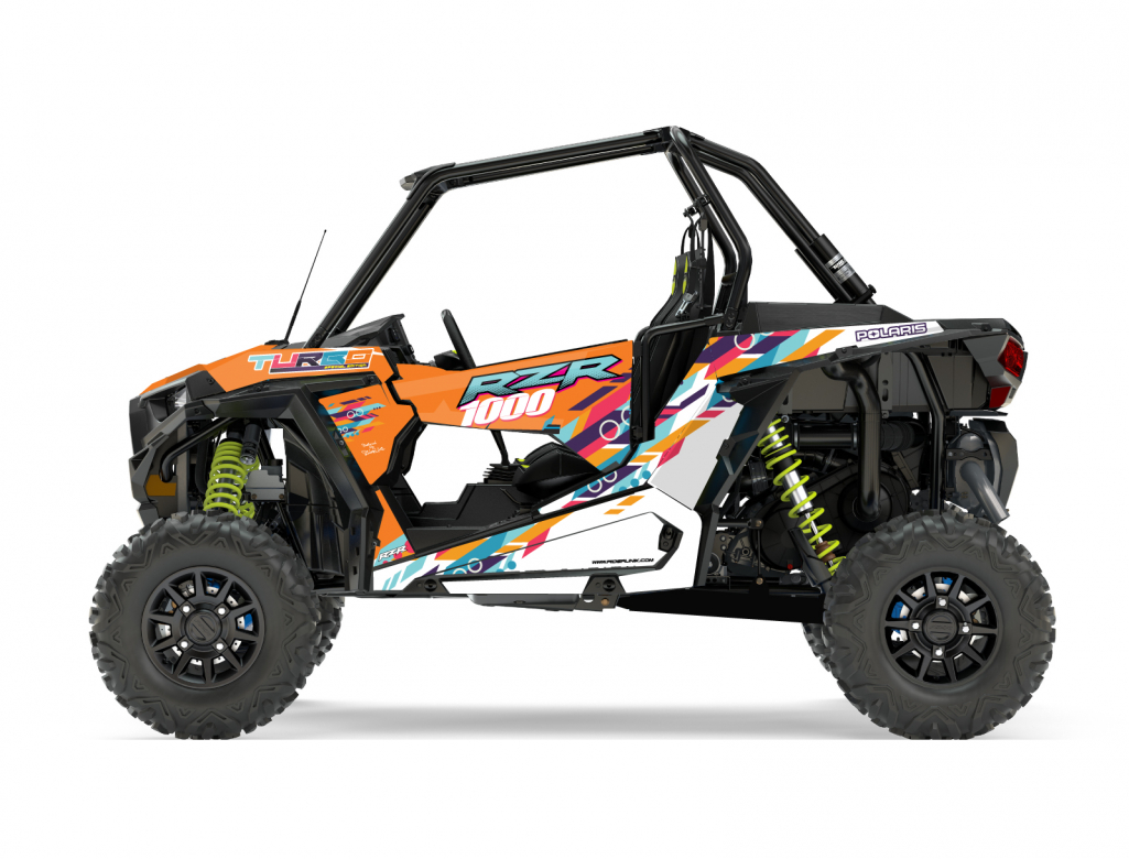 KIT DECO SSV POLARIS RZR Colorful