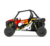 KIT DECO SSV POLARIS RZR Colorful Rouge