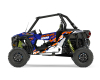 KIT DECO SSV POLARIS RZR Colorful Bleu 1