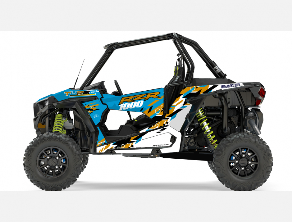 KIT DECO SSV POLARIS RZR Colorful Gold 1
