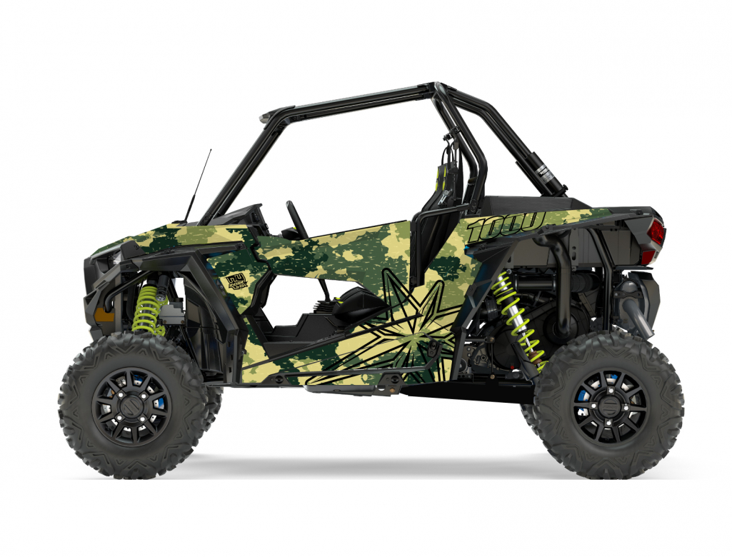 KIT DECO SSV POLARIS RZR Camouflage