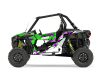 KIT DECO SSV POLARIS RZR Colorful Vert 1