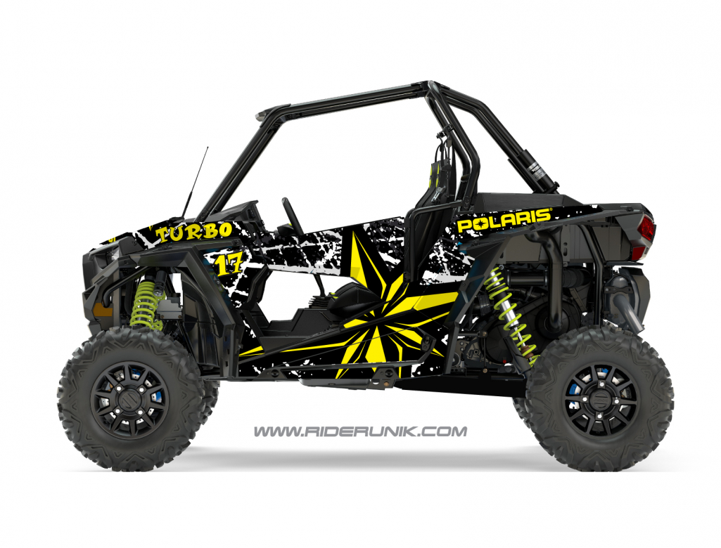 KIT DECO SSV POLARIS RZR Brush noir