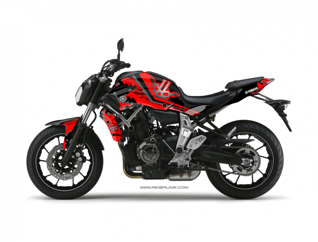 KIT DECO YAMAHA MT 07 URBAN ROUGE