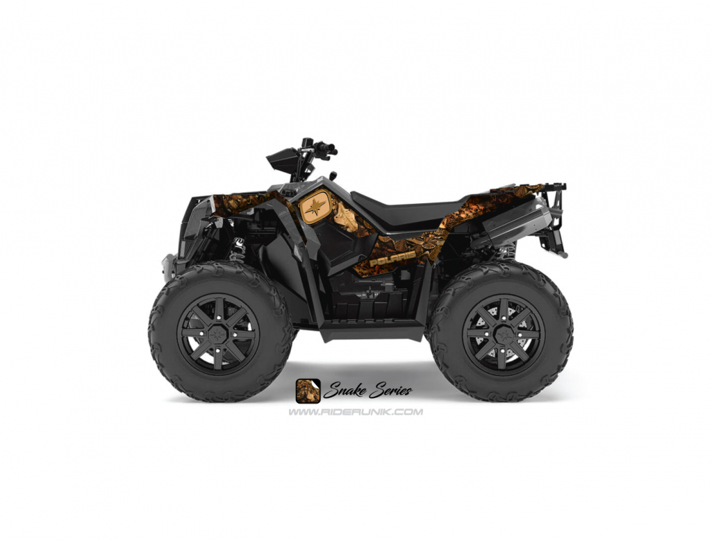 KIT DECO QUAD SCRAMBLER 1000 SNAKE
