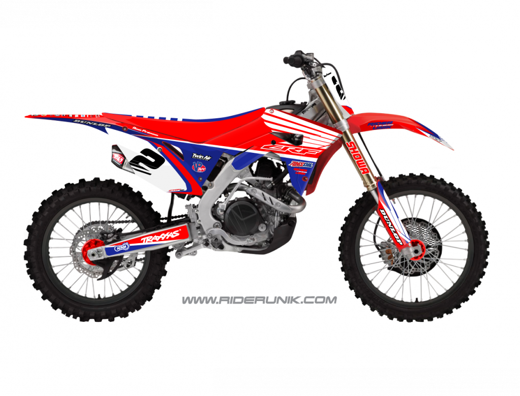 KIT DECO MOTOCROSS TRAX