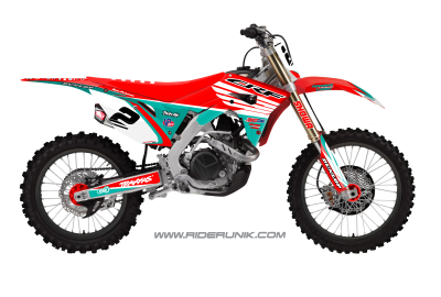 KIT DECO MOTOCROSS TRAX AQUA