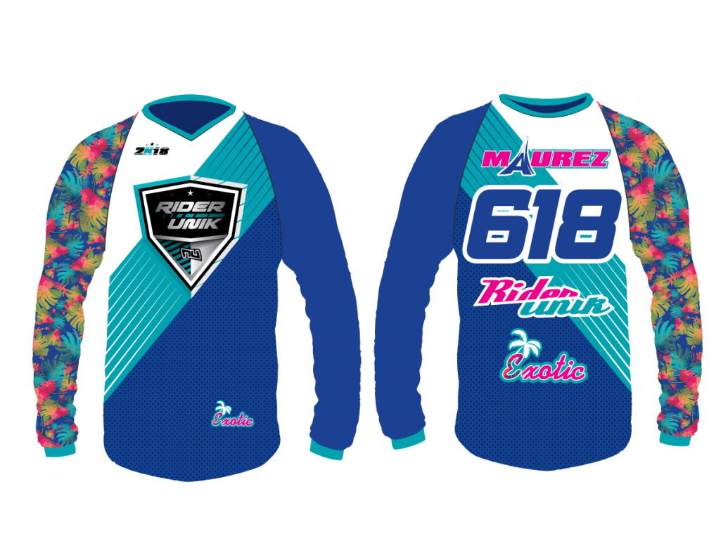 Maillot motocross personnalisable RiderUnik Exotic Series