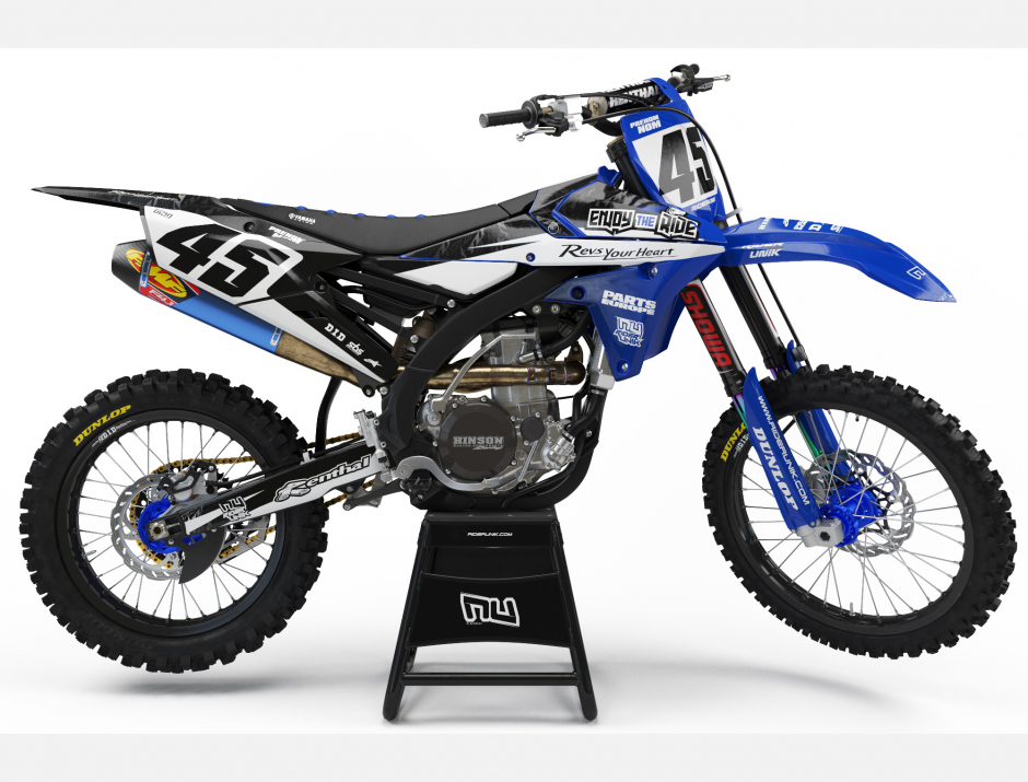 KIT DECO MOTOCROSS YZ/YZF ENJOY THE RIDE 1