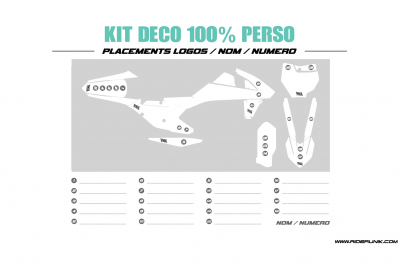 KIT DECO 50 DERBI DRD 100% PERSO