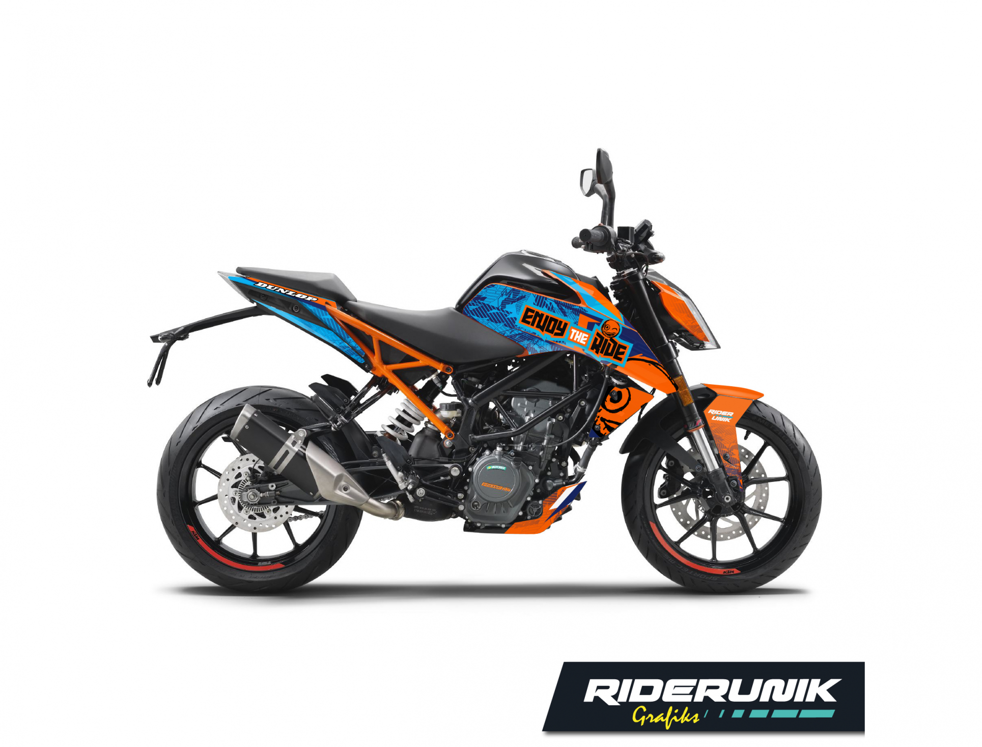 KIT DECO KTM DUKE ENJOY THE RIDE