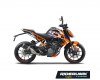 KIT DECO KTM DUKE ENJOY THE RIDE BLANC 1