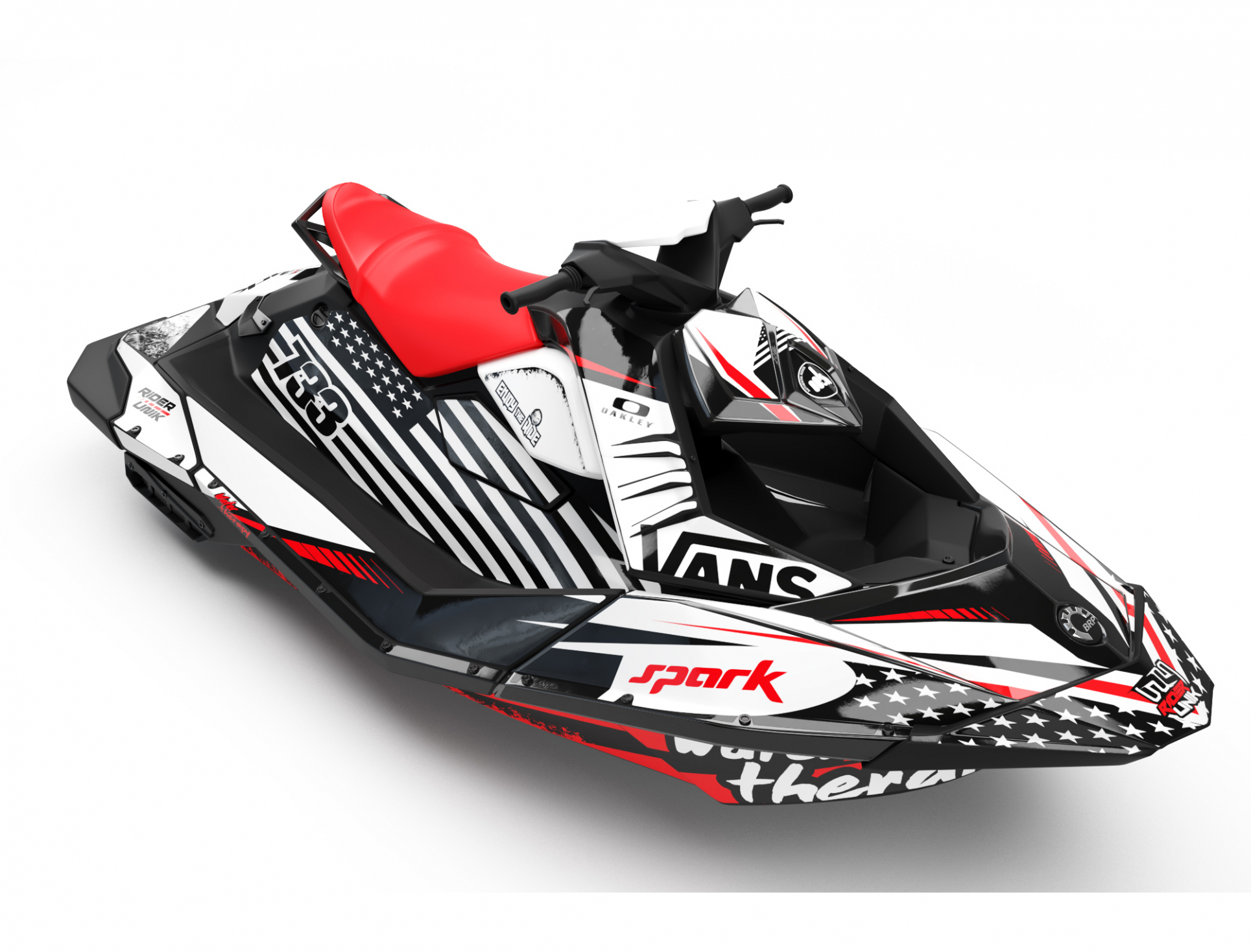 KIT DECO SEA-DOO SPARK WATER THERAPY FULL