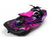 KIT DECO SEA-DOO SPARK ENJOY THE RIDE PINK/PURPLE FULL 3