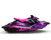 KIT DECO SEA-DOO SPARK ENJOY THE RIDE PINK/PURPLE FULL 2