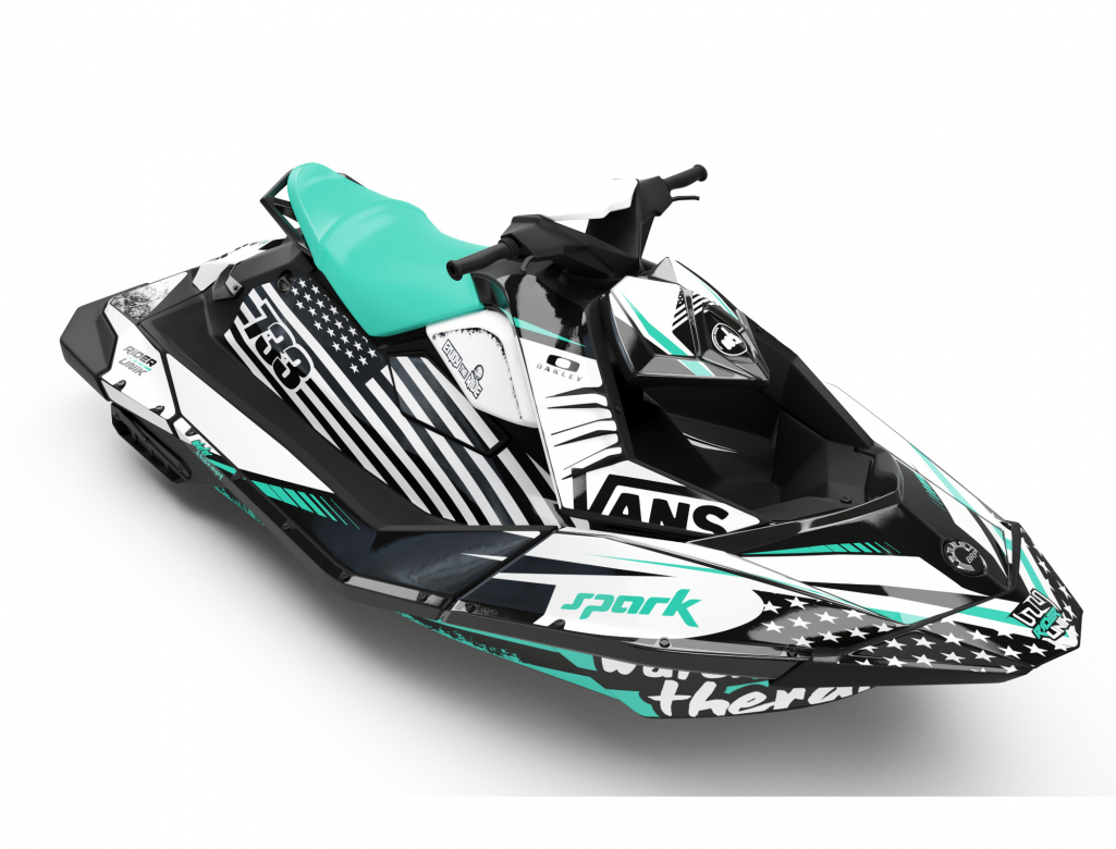 KIT DECO SEA-DOO SPARK WATER THERAPY AQUA FULL