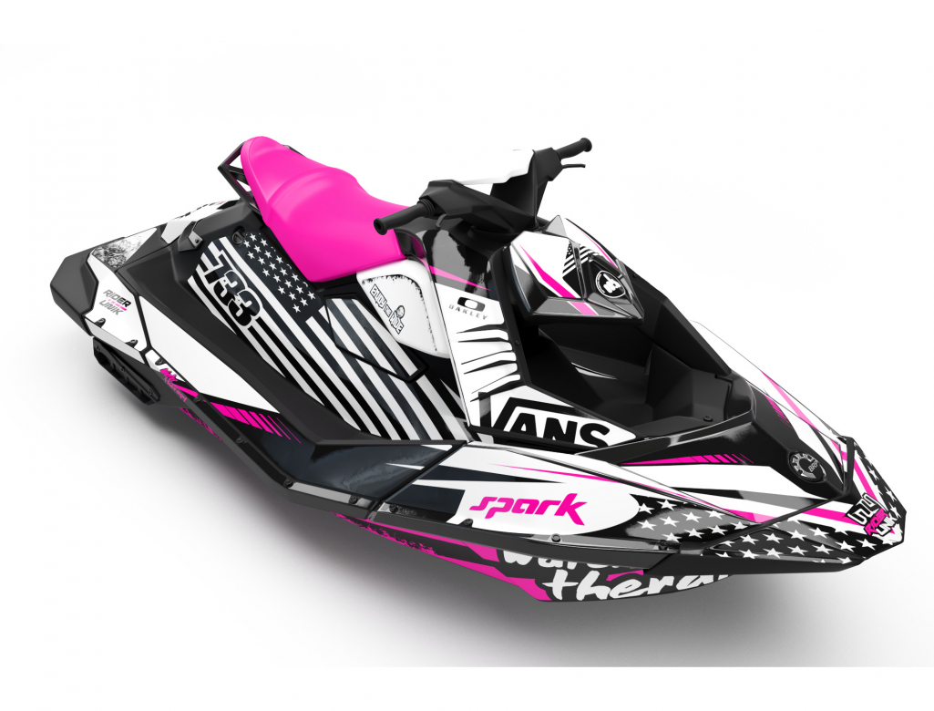 KIT DECO SEA-DOO SPARK WATER THERAPY PINK FULL