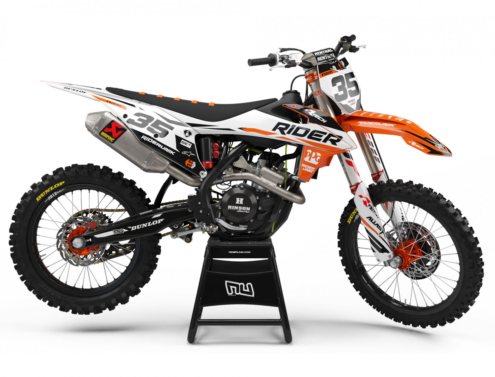 KIT DECO MOTOCROSS KTM RIDER 2019