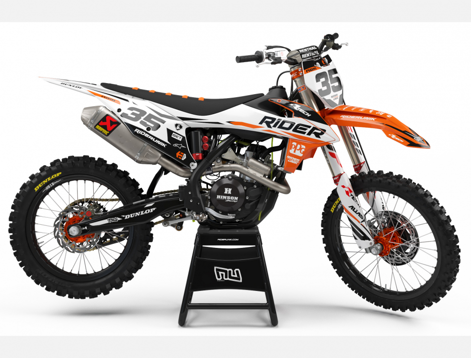 KIT DECO MOTOCROSS KTM RIDER 2019 1