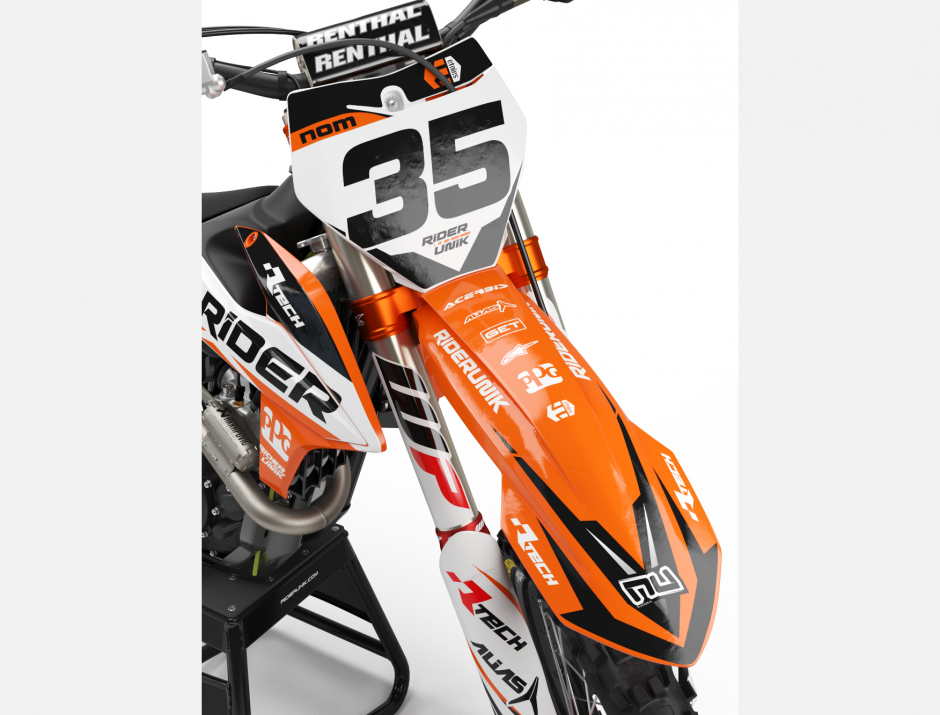 KIT DECO MOTOCROSS KTM RIDER 2019 2