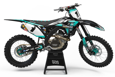 KIT DECO MOTOCROSS CR/CRF SR TEAM BLACK EDITION