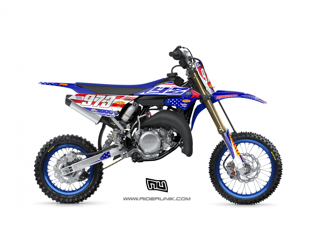 KIT DECO MOTOCROSS 65 YZ 2019 USA
