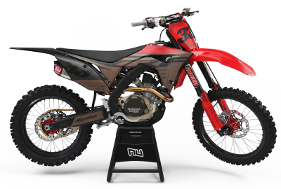 KIT DECO MOTOCROSS CR/CRF TEALBRO