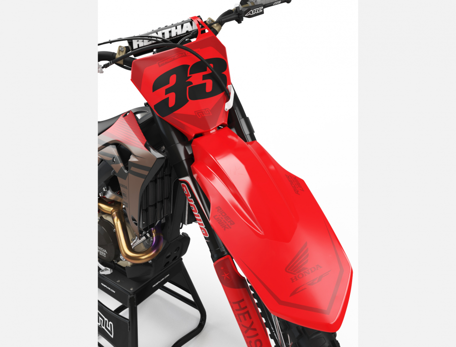 KIT DECO MOTOCROSS CR/CRF TEALBRO 3