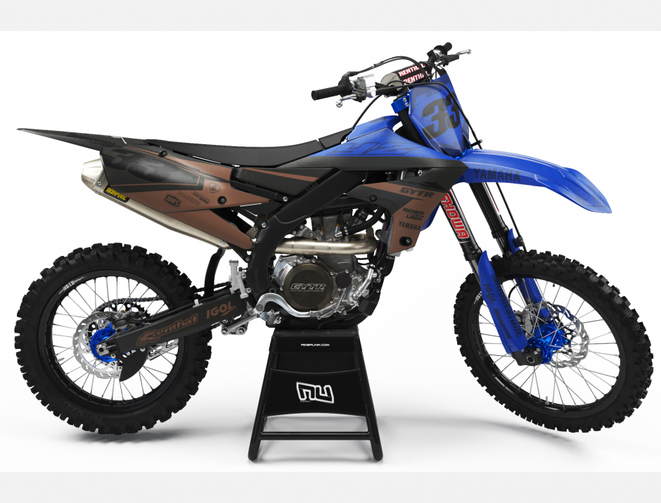 KIT DECO MOTOCROSS YZ/YZF TEALBRO 1