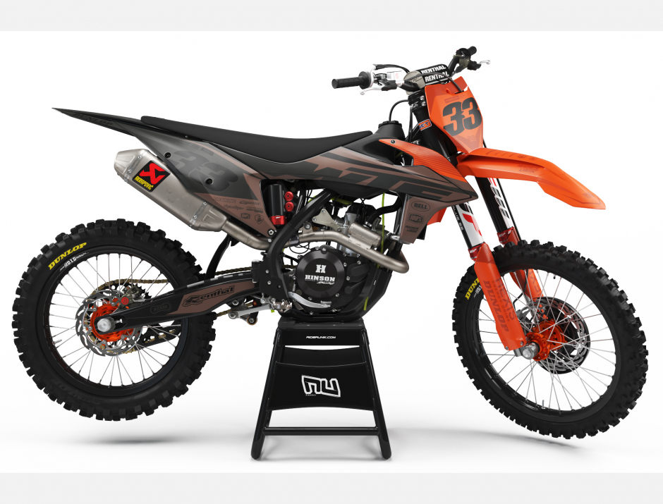 KIT DECO MOTOCROSS KTM TEALBRO 1