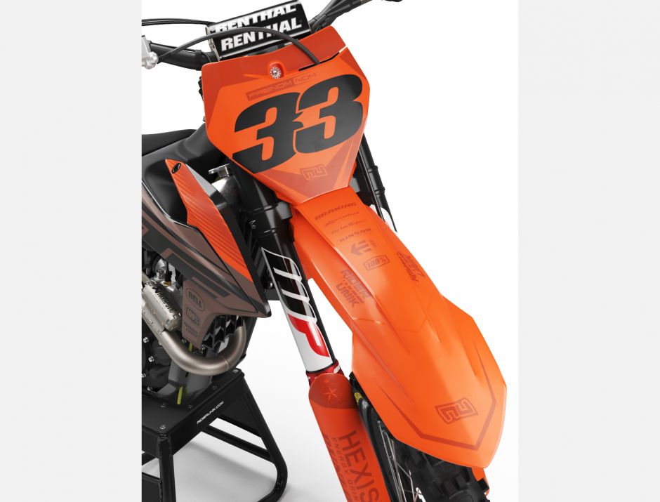 KIT DECO MOTOCROSS KTM TEALBRO 3