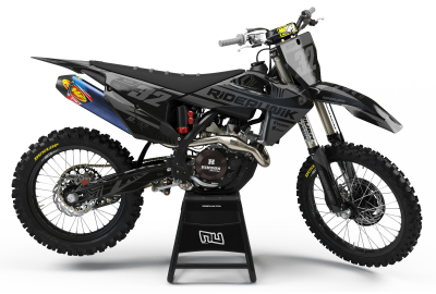 KIT DECO MOTOCROSS HUSQVARNA WAVE GREY 2019