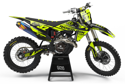 KIT DECO MOTOCROSS HUSQVARNA WAVE FLUO 2019