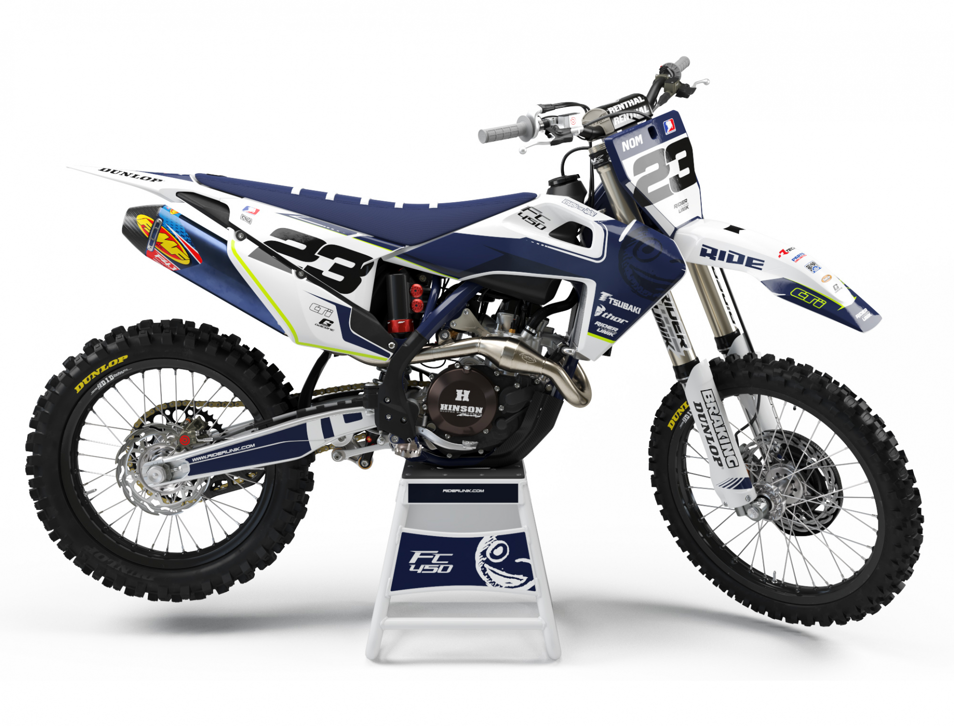 KIT DECO MOTOCROSS HUSQVARNA SPIRIT 2019