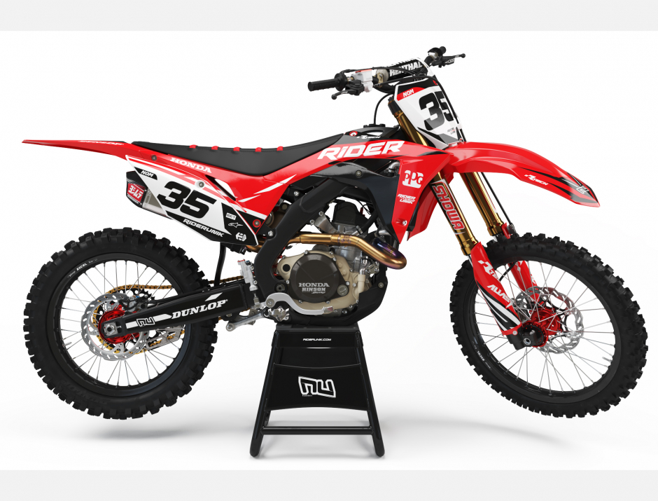 KIT DECO MOTOCROSS CR/CRF RIDER 1