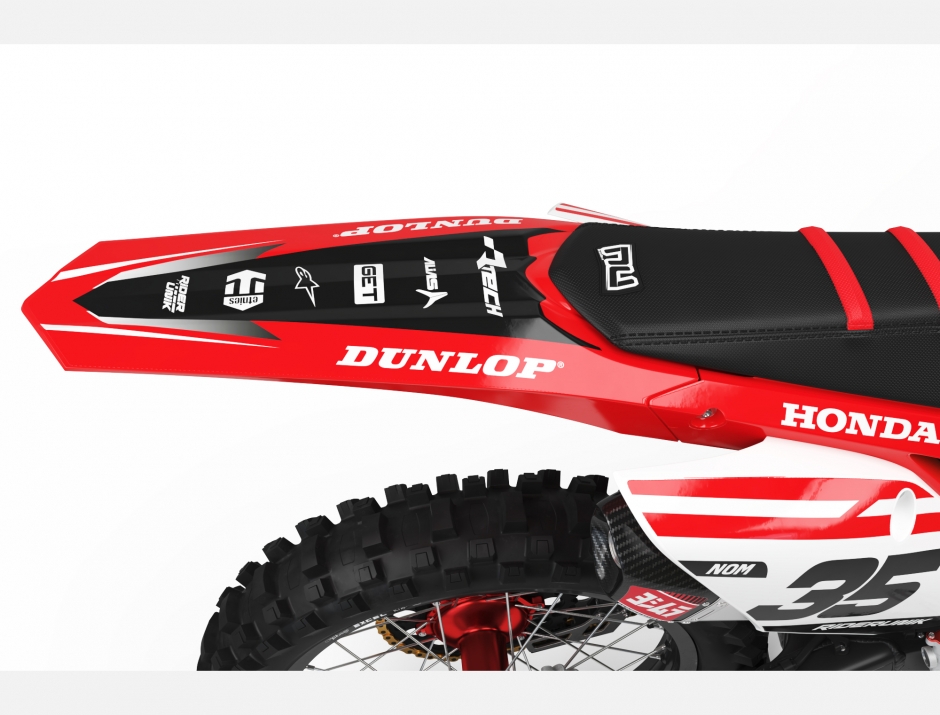 KIT DECO MOTOCROSS CR/CRF RIDER 2