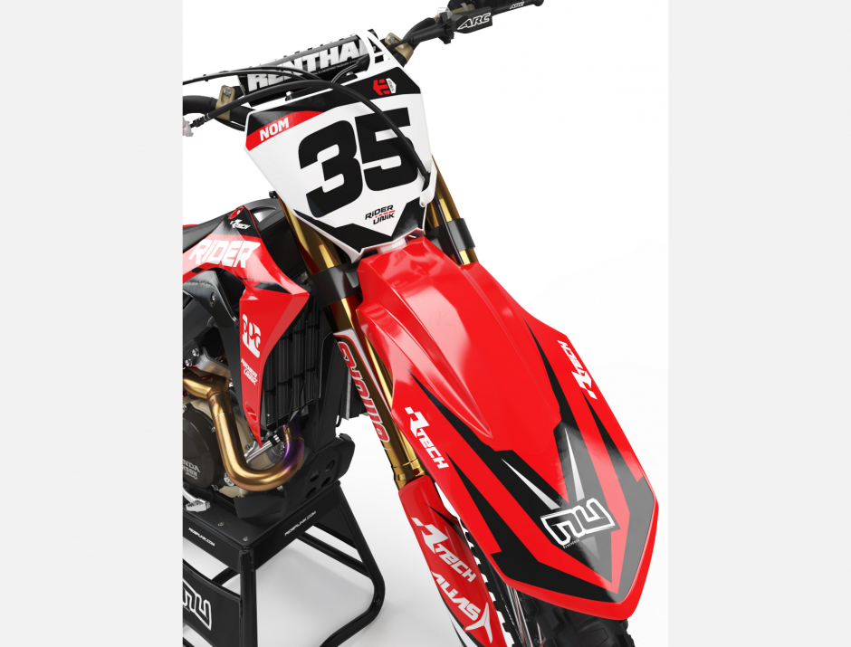 KIT DECO MOTOCROSS CR/CRF RIDER 3