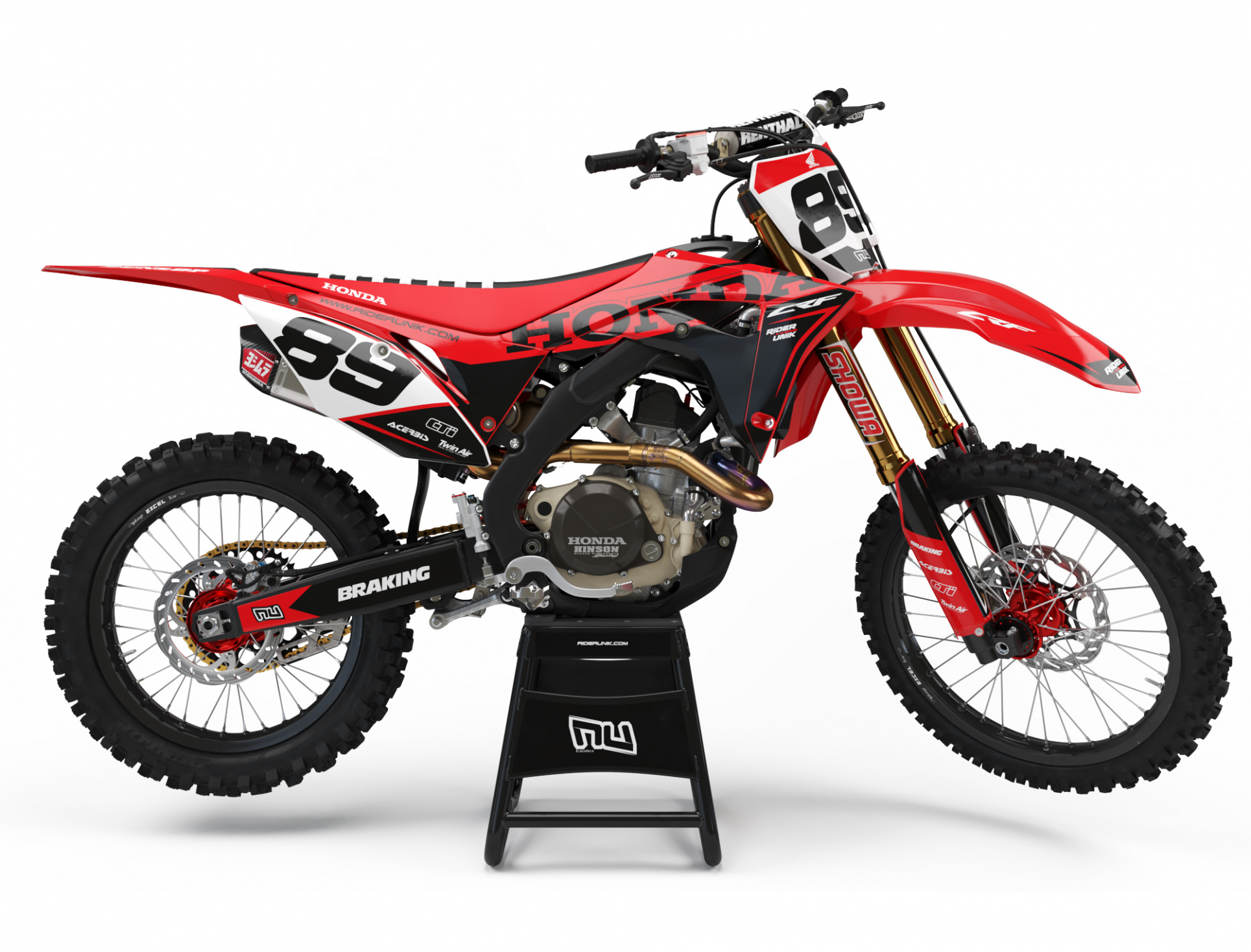 KIT DECO MOTOCROSS CR/CRF USINE